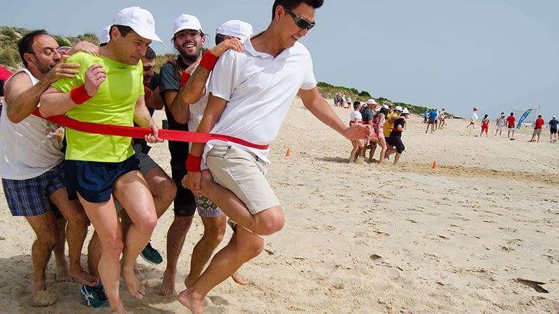 Tour Team Building bãi biển