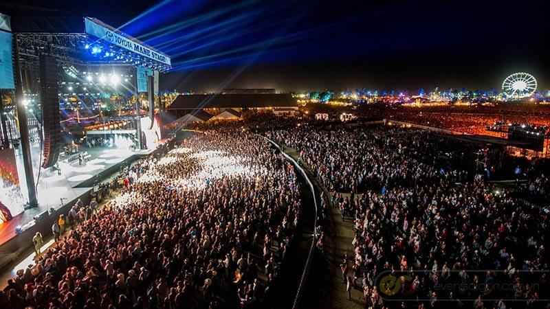 Sân khấu ngoài trời Sự kiện Coachella