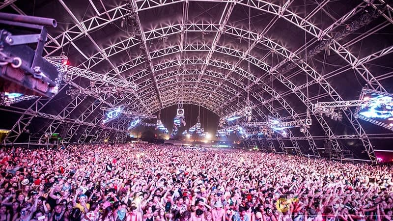 Sân khấu mái vòm Coachella 2018